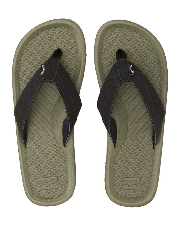 0 Offshore Impact Sandals Green MFOT1BOI Billabong