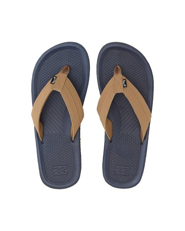 0 Offshore Impact Sandals Blue MFOT1BOI Billabong