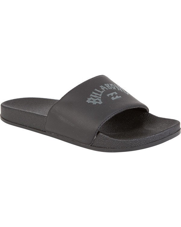 0 Poolslide Corp Vegan Leather Sandals Black MFOT1BPO Billabong