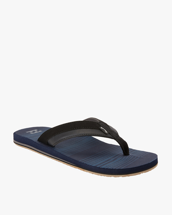 0 All Day Impact Print Sandals Blue MFOT3BAI Billabong