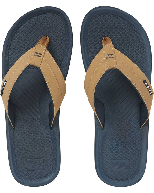 0 Off Shore Impact Sandals Blue MFOTNBOI Billabong