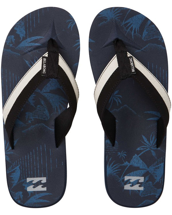 0 All Day Impact Sandals Blue MFOTTBAI Billabong