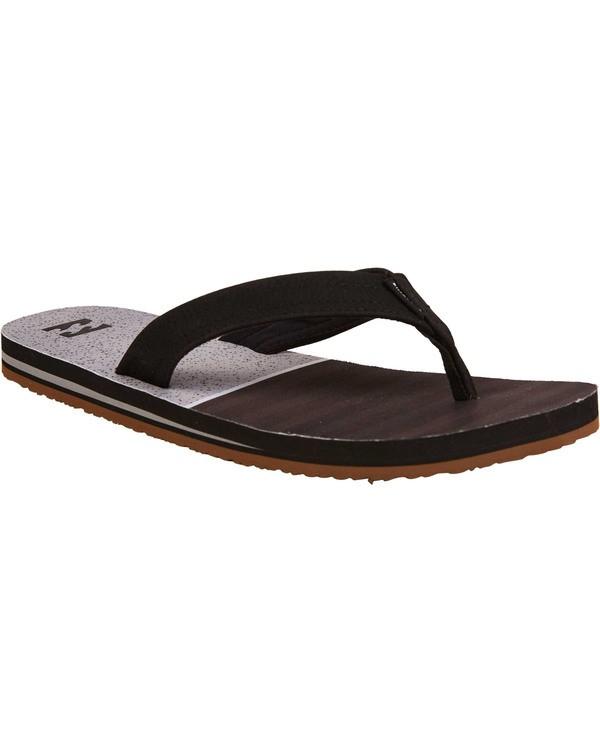 0 Fifty 50 Sandals Black MFOTTBFI Billabong