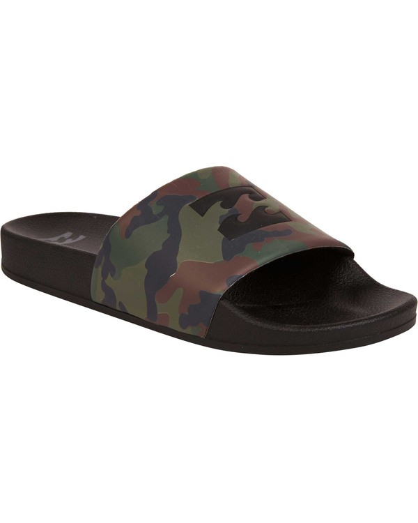 0 Poolslide Sandals Camo MFOTTBPO Billabong