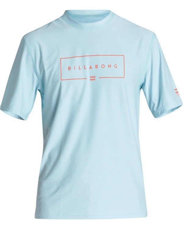 0 Union Loose Fit Short Sleeve Surf Shirt Blue MR011BUN Billabong