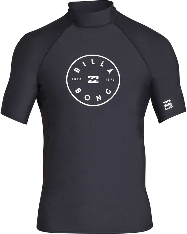 0 Rotor Performance Fit Short Sleeve Rashguard  MR01TBRO Billabong