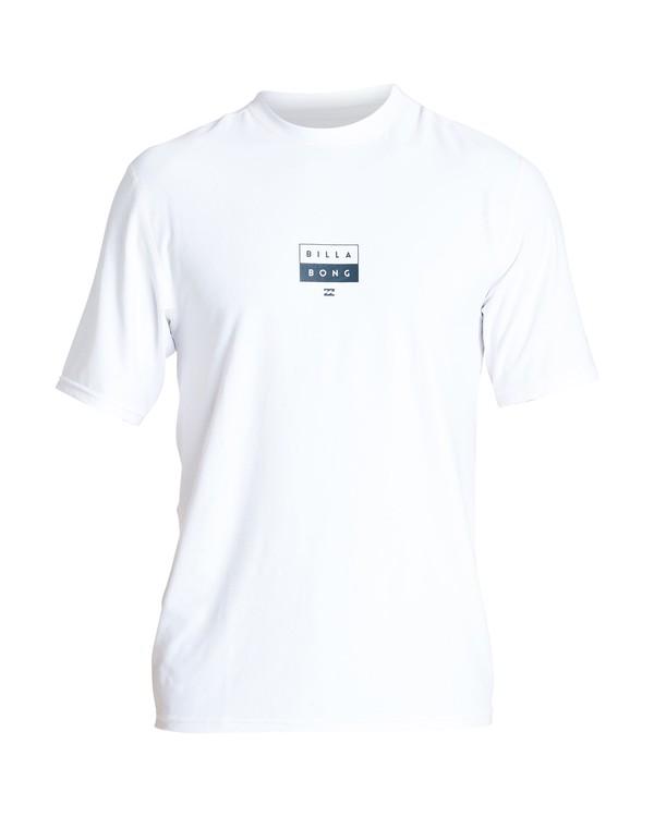 0 Decal Loose Fit Short Sleeve White MR01VBDE Billabong