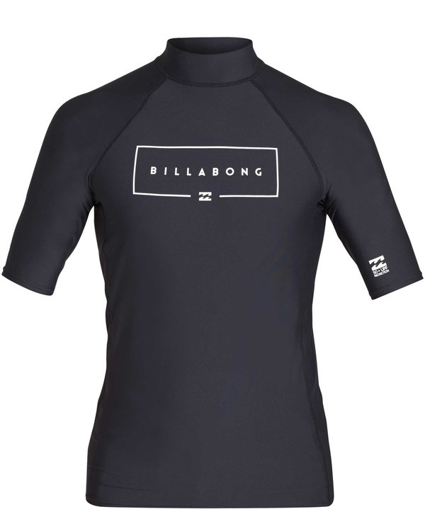 0 Union Performance Fit Short Sleeve Rashguard Black MR02TBUN Billabong