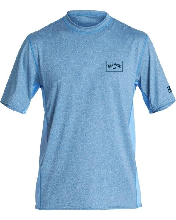 0 Arch Mesh Loose Fit Short Sleeve Surf Shirt Blue MR081BAR Billabong