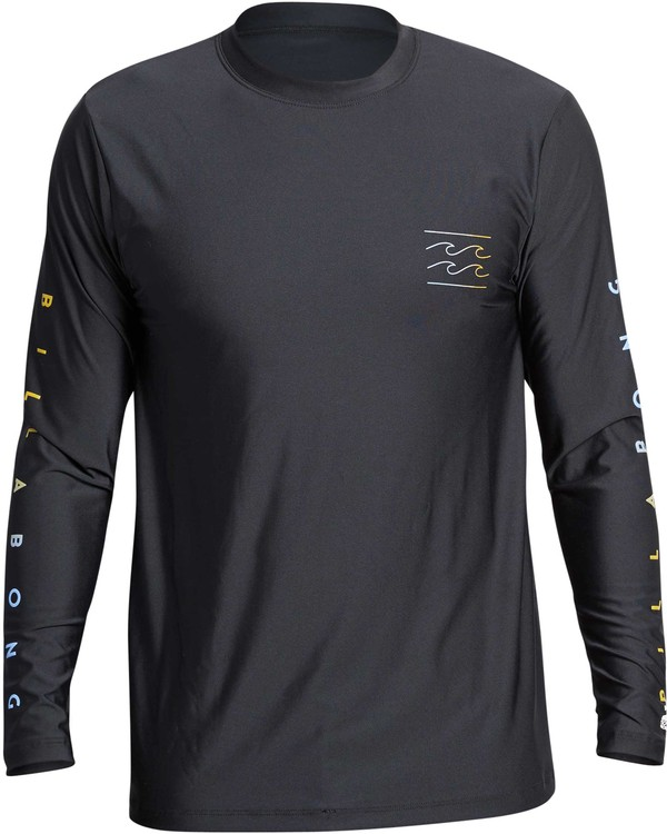 0 UNITY SLEEVES LF LS Black MR55QBUL Billabong