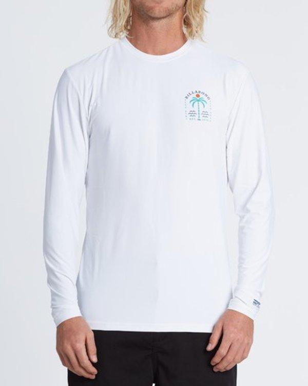 0 Schooner Loose Fit Long Sleeve Surf Shirt White MR591BSR Billabong
