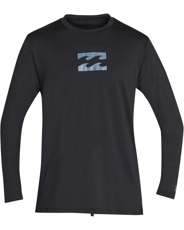 0 All Day Mesh Loose Fit Long Sleeve Rashguard Black MR59TBAM Billabong
