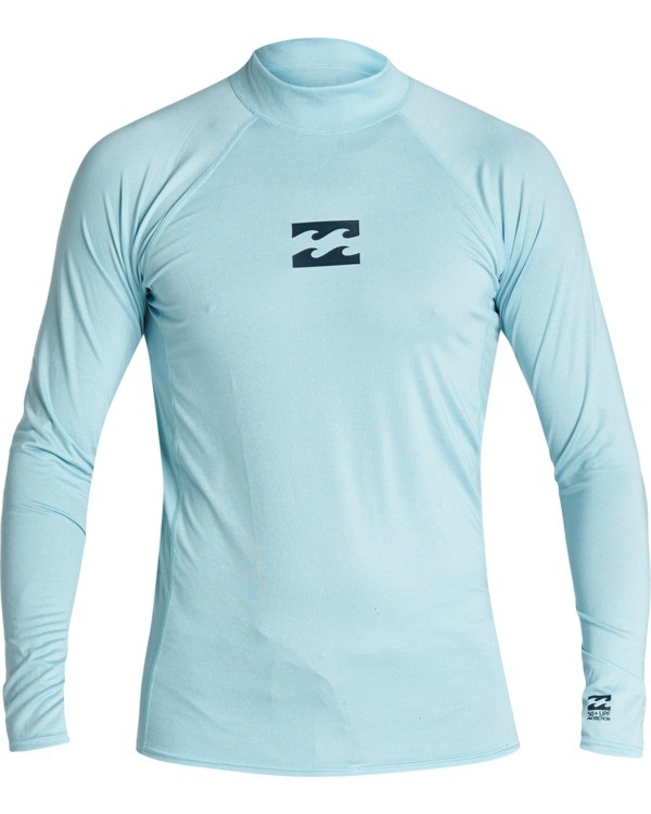 0 All Day Wave Performance Fit Long Sleeve Rashguard Multicolor MR601BAL Billabong