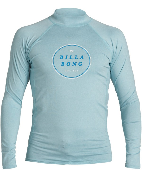 0 Rotor Performance Fit Long Sleeve Rashguard Multicolor MR603BRO Billabong