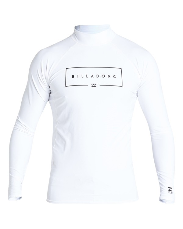 0 Union Performance Fit Long Sleeve White MR62VBUN Billabong