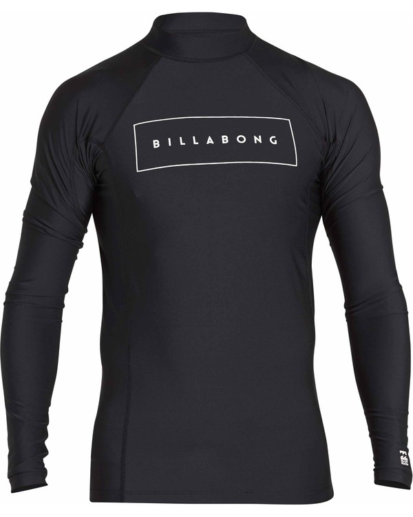 0 All Day United Performance Fit Long Sleeve Rashguard  MR64NBAU Billabong