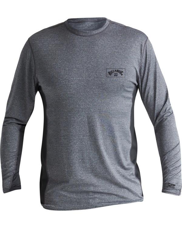 0 Arch Mesh Loose Fit Long Sleeve Surf Shirt Grey MR681BAR Billabong