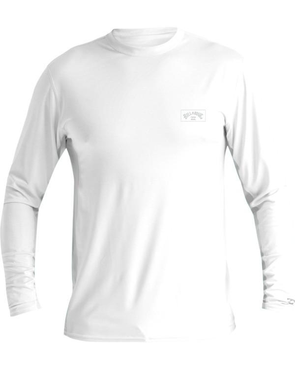 0 Arch Mesh Loose Fit Long Sleeve Surf Shirt White MR681BAR Billabong