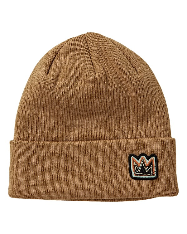 0 Basquiat Beanie Brown MSBNVBBB Billabong