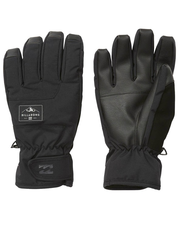 0 Kera Snow Gloves Black MSGLVBKG Billabong