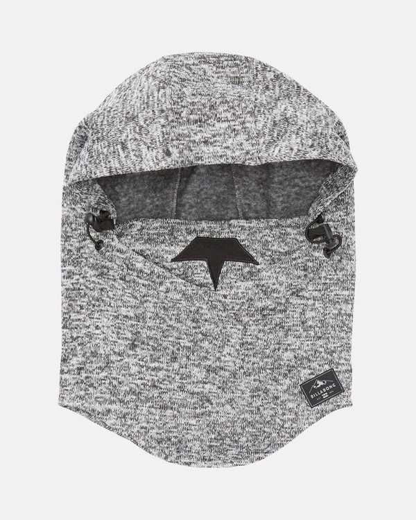 0 Men's Hunter Balaclava Fleece Hoodie Grey MSHWQHUN Billabong
