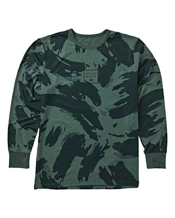 0 Operator Tech Long Sleeve Under Layer T-Shirt Black MSN9VBOT Billabong