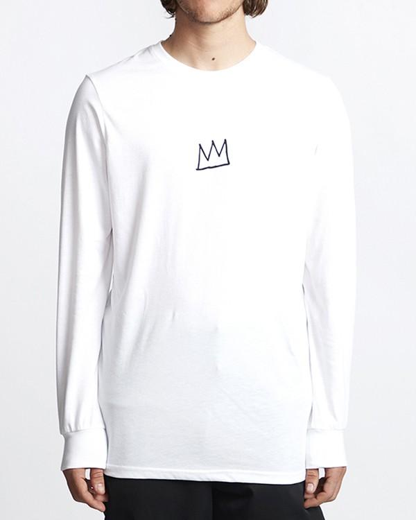 0 Basquiat Long Sleeve Thermal White MSN9VBTT Billabong