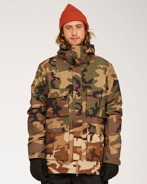 0 Adversary Jacket Green MSNJ3BAY Billabong