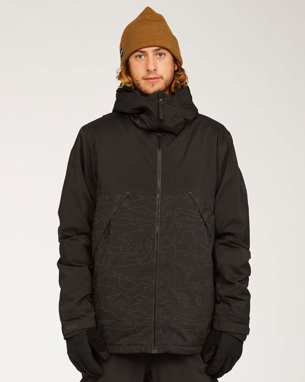 0 Expedition Jacket Black MSNJ3BEX Billabong