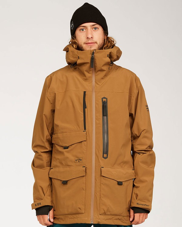 0 Prism Stx Jacket Brown MSNJ3BPS Billabong