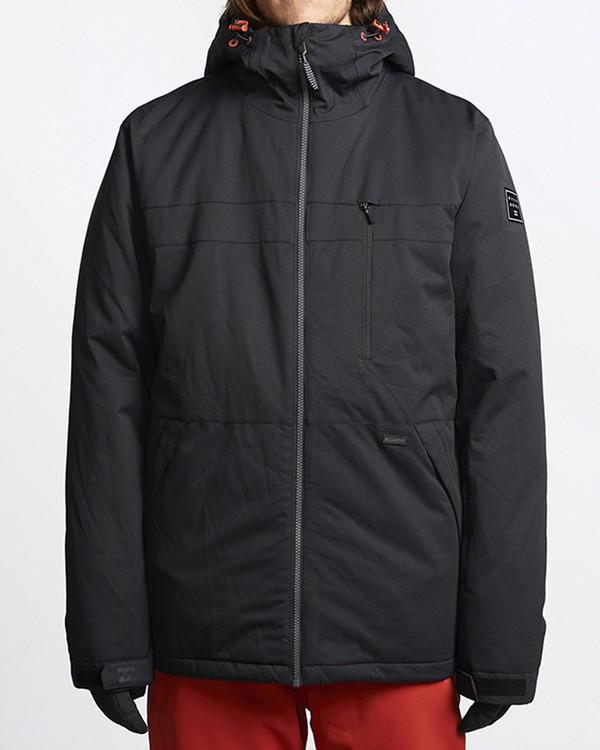 0 All Day Snow Jacket Black MSNJVBAD Billabong
