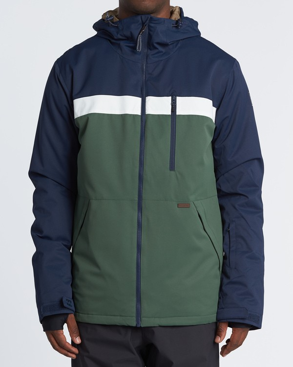 0 All Day Snow Jacket Green MSNJVBAD Billabong