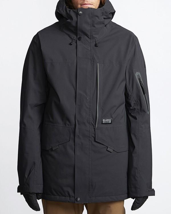0 Delta Snow Jacket Black MSNJVBDS Billabong