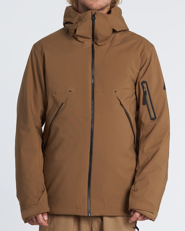 0 Expedition Snow Jacket Brown MSNJVBEX Billabong