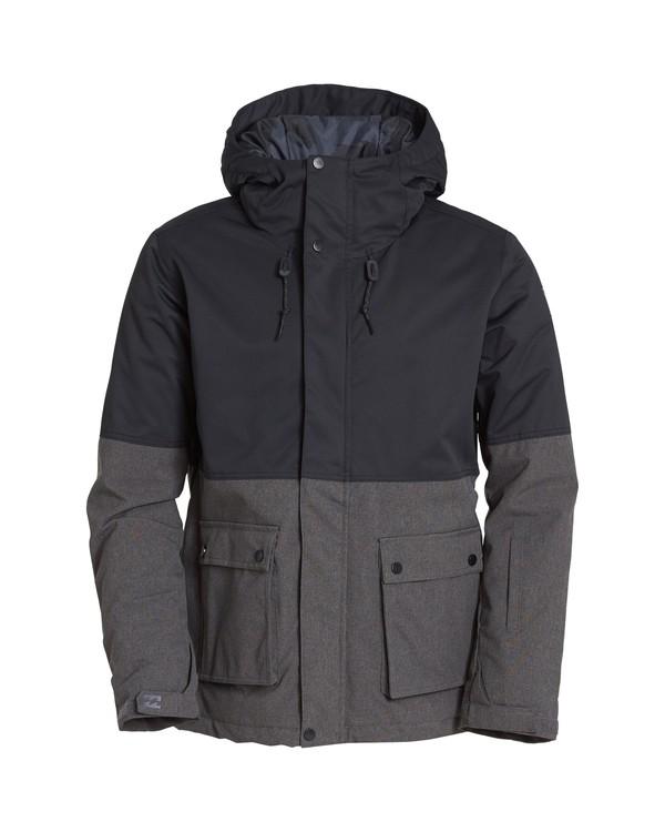 0 Fifty 50 Snow Jacket Grey MSNJVBFF Billabong