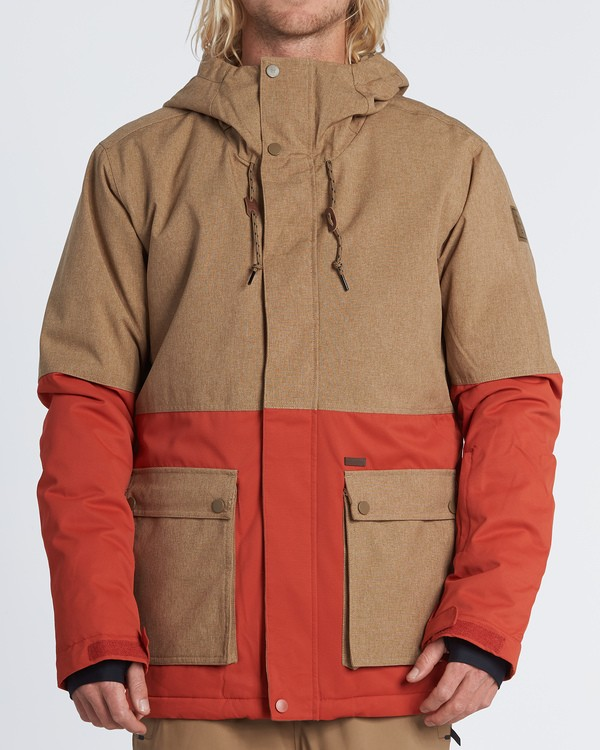 0 Fifty 50 Snow Jacket Multicolor MSNJVBFF Billabong