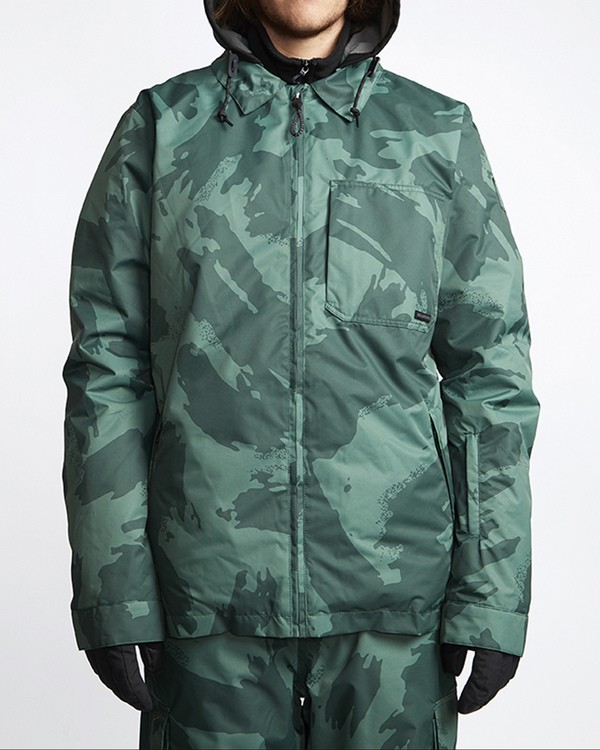 0 Fastplant Snow Jacket Camo MSNJVBFP Billabong
