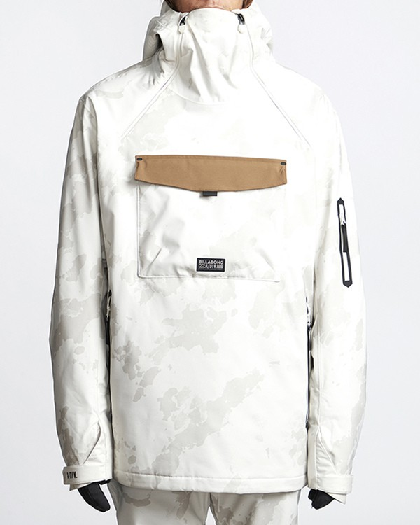 0 Quest Snow Jacket White MSNJVBQT Billabong