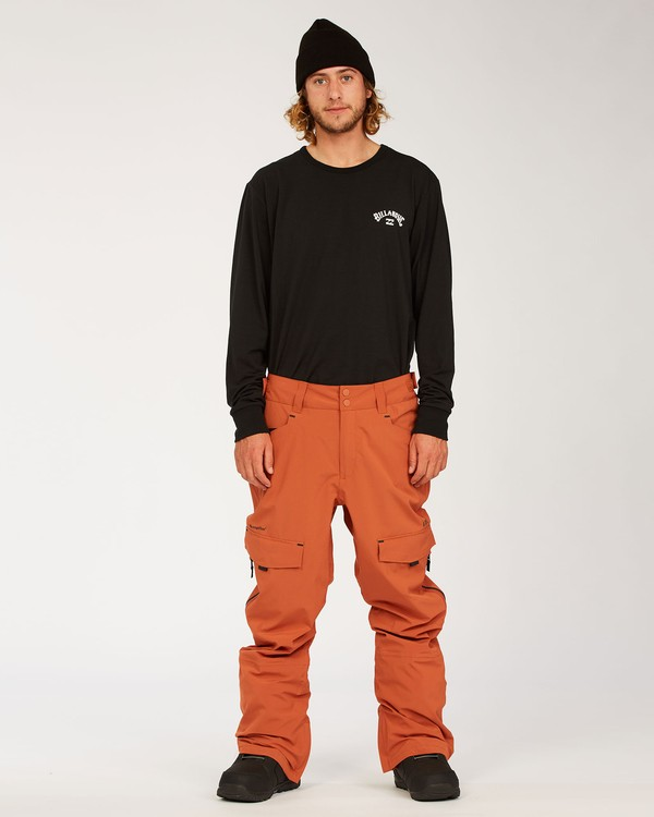 0 Ascent Stx Pant Red MSNP3BAS Billabong