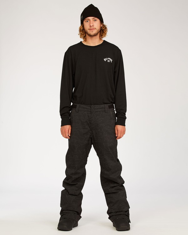 0 Compass Pant Black MSNP3BCO Billabong