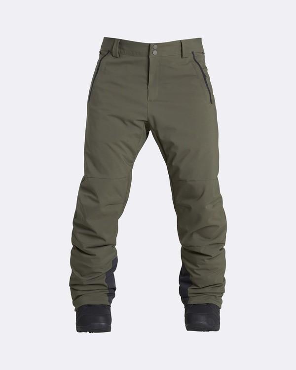 0 Men's Compass Outerwear Pants Brown MSNPQCOM Billabong