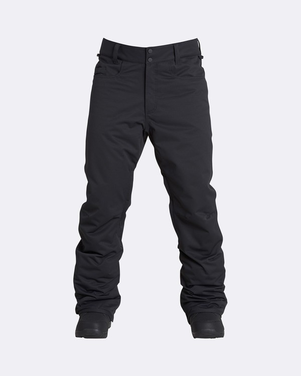 0 Men's Outsider Outerwear Snow Pants Black MSNPQOUT Billabong