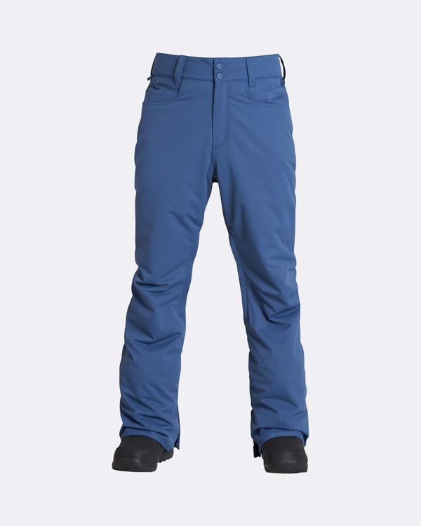 0 Men's Outsider Outerwear Snow Pants Blue MSNPQOUT Billabong