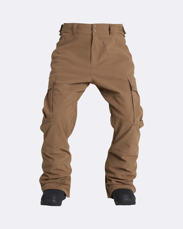0 Men's Transport Outerwear Snow Pants Yellow MSNPQTRA Billabong
