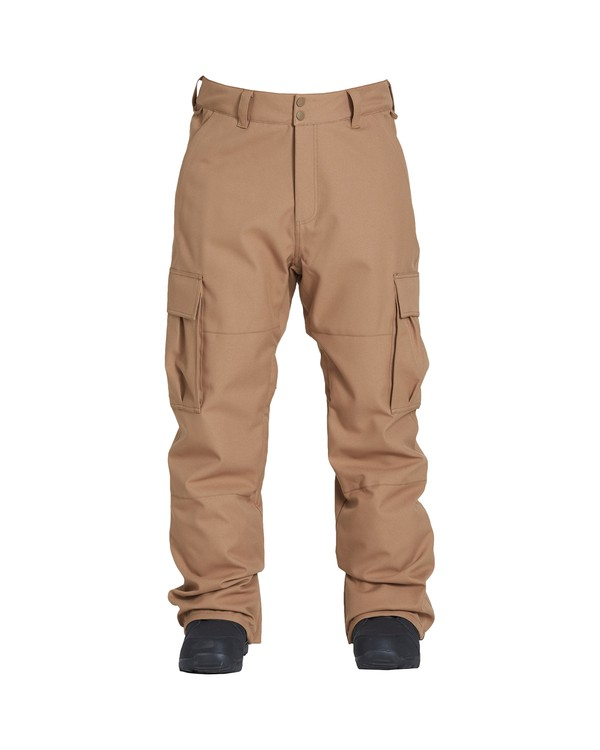 0 Transport Snow Pant Brown MSNPVBTR Billabong
