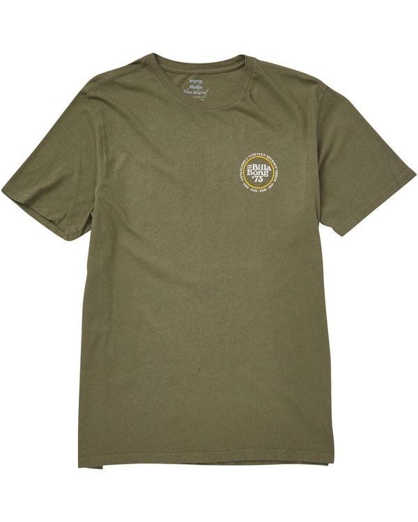 0 Cruiser T-Shirt Camo MT10QBCR Billabong