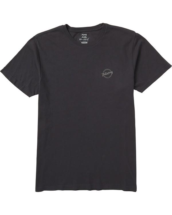 0 Eighty Six Graphic T-Shirt Grey MT10SBEI Billabong
