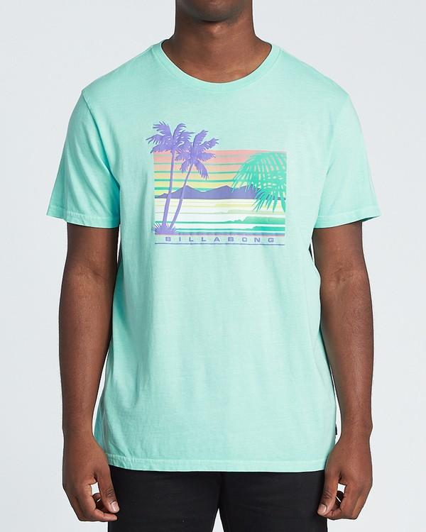 0 Coastline Short Sleeve T-Shirt Grey MT131BCA Billabong