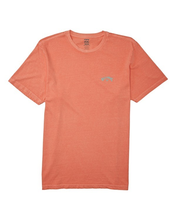0 Arch Wave Short Sleeve T-Shirt Orange MT132BAW Billabong
