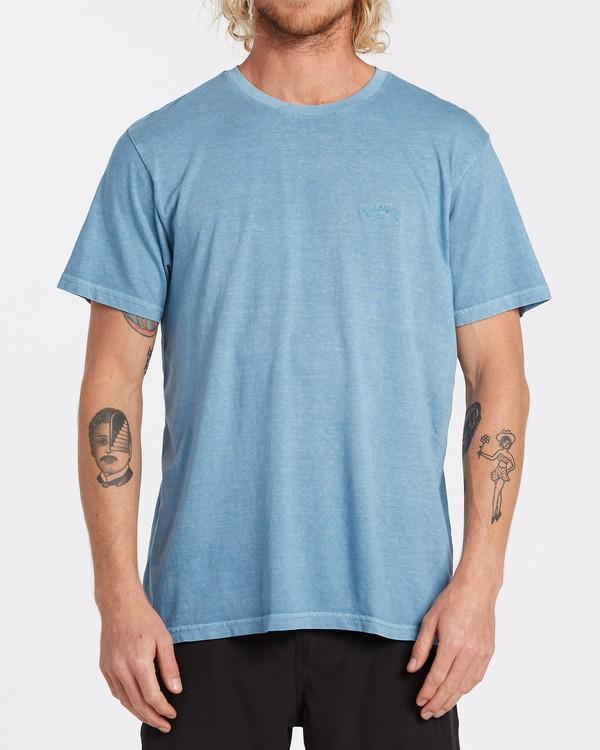 0 Essentials Short Sleeve T-Shirt Grey MT132BES Billabong